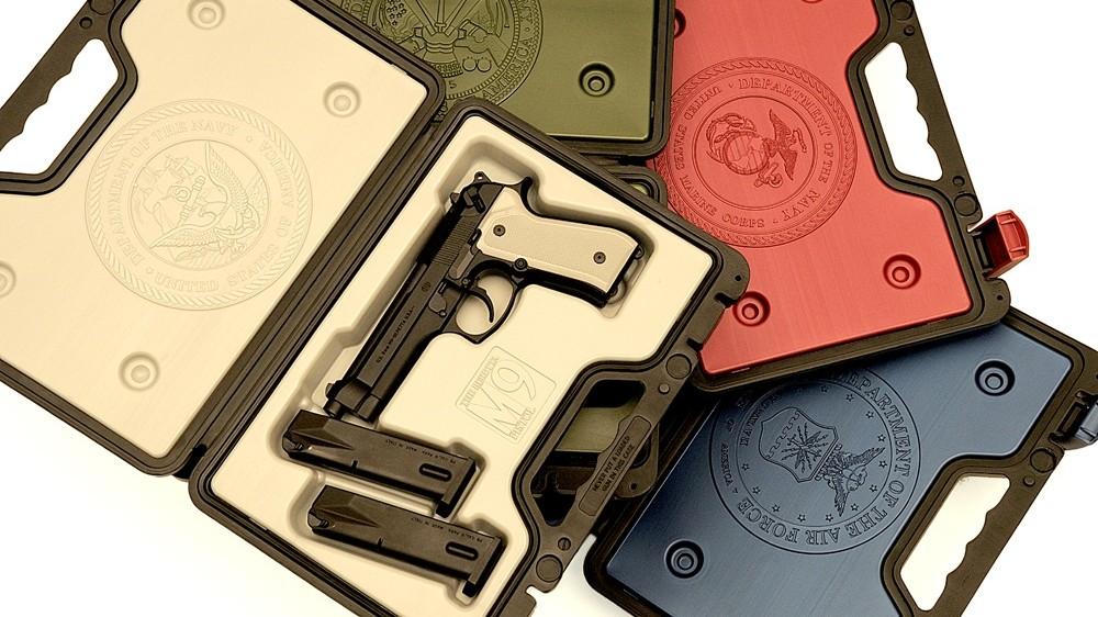 Quad Wall Gun Cases